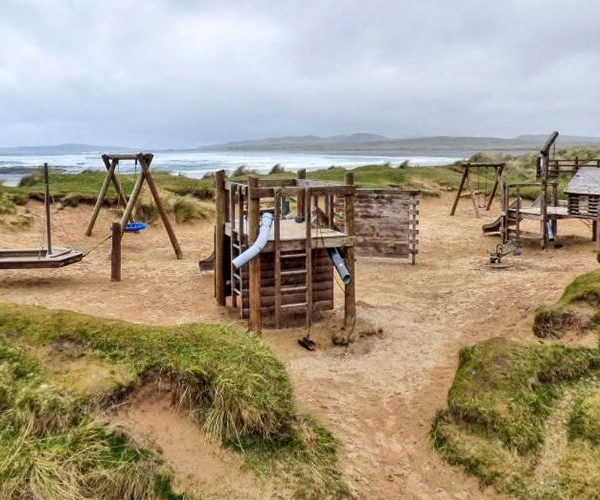 Shore-front-playground-at-Pollan-Strand-Ballyliffin